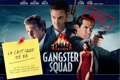 [EXCLU] La critique de BB : Gangster Squad