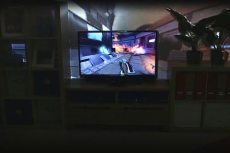 Microsoft : Encore plus d'immersion dans les jeux avec IllumiRoom