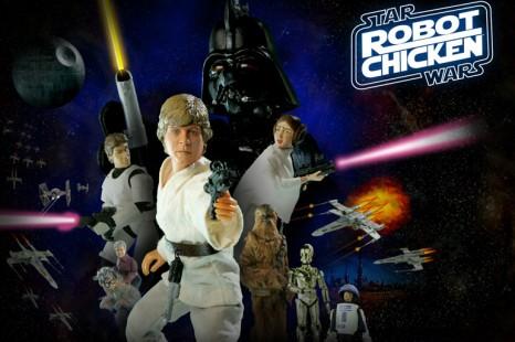 Sortie de Robot Chicken Star Wars , le coffret 3 DVD.