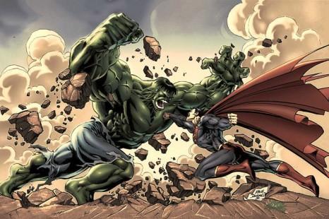 Superman versus Hulk : le Combat !