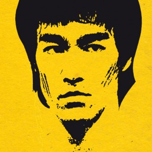 Bruce Lee bluffant dans UFC