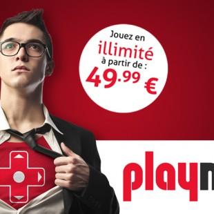 Jouez en illimité avec PlayMax