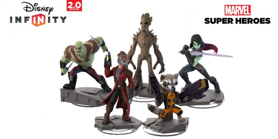 Les Gardiens de la Galaxie dans Disney Infinity 2.0