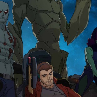 Guardians of the Galaxy animated