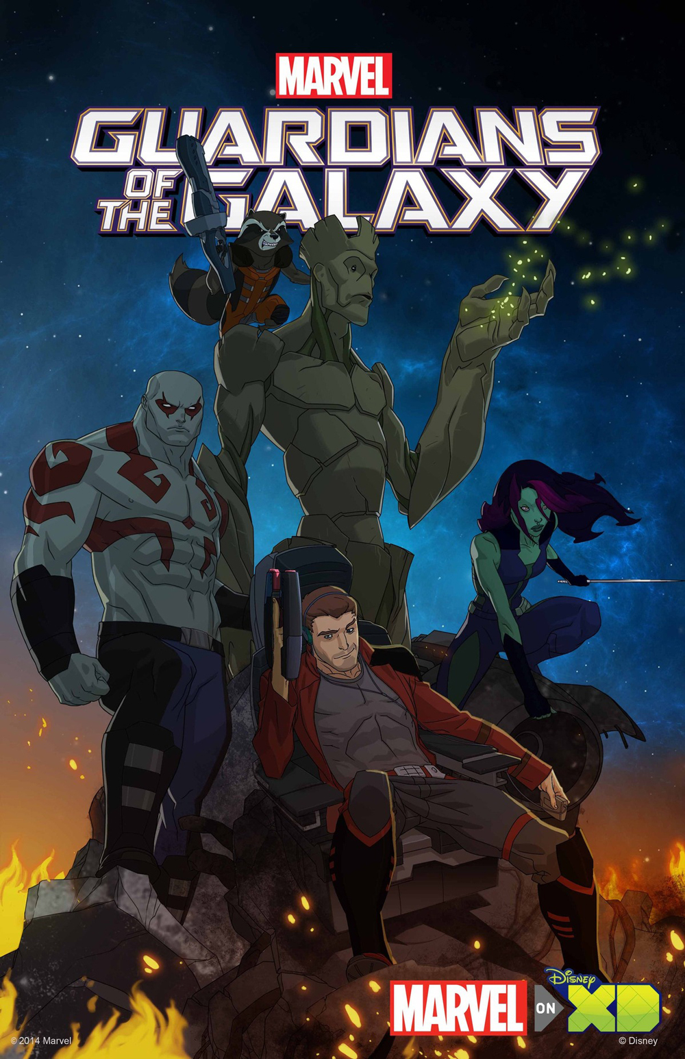 guardians-of_the_galaxy-cartoon_poster_BBBuzz
