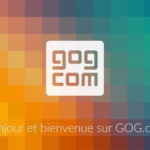 Aujourd'hui, GOG.com arrive en France