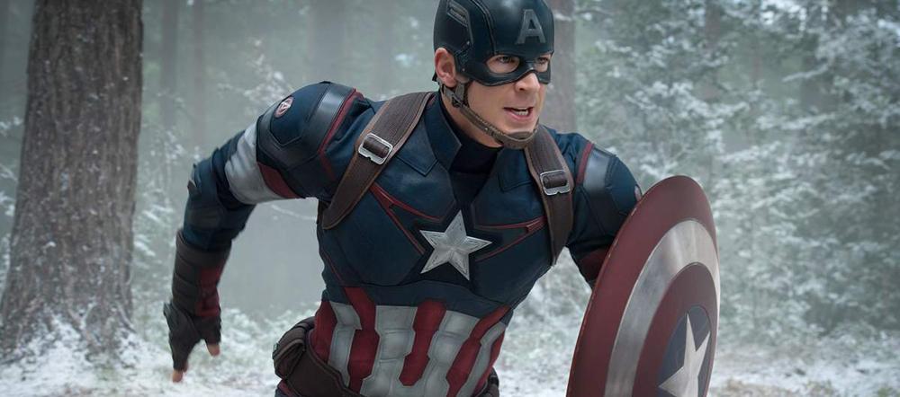 Le boy scout Captain America est toujours de la partie pour guider ses troupes.