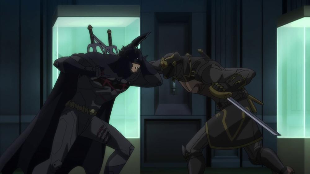 Des combats violents et sanglants entre Batman et les Hiboux.