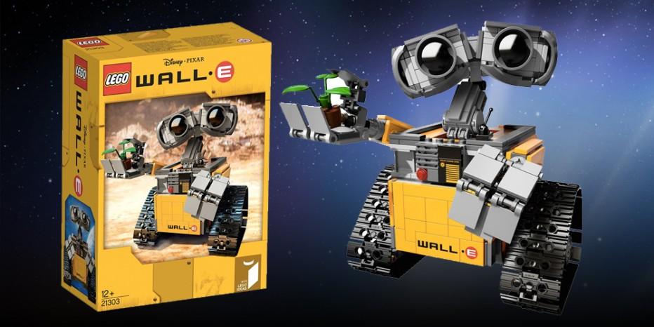 On a reçu notre Wall-E Lego !