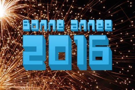 Bonne Année 2016 à tous !