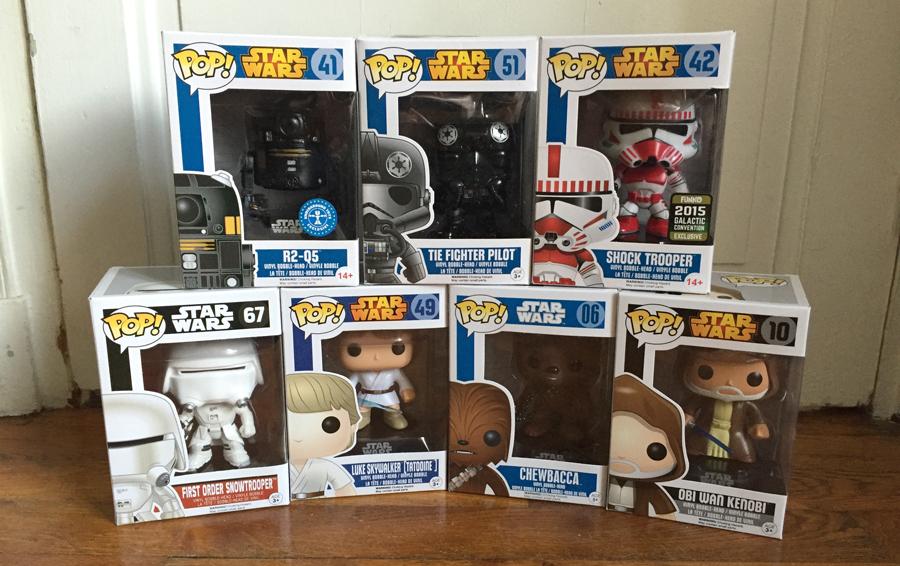 Après l'excellent Star Wars VII, le bonheur continue avec ces figurines Funko Pop!s de My Pop Box.