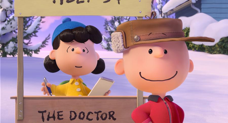 Le bien sympa mais très maladroit Charlie Brown.