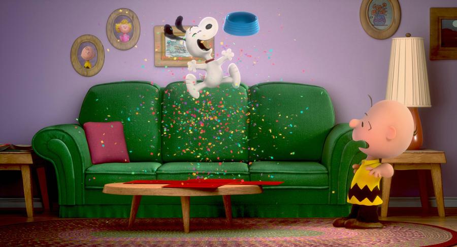 Toutes les apparitions de Snoopy sont synonymes de rires.