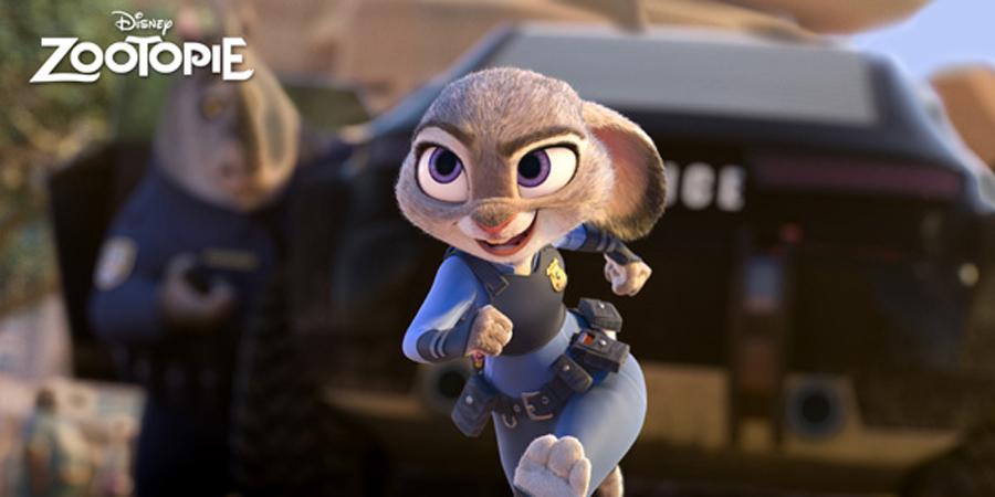 Voici Judy Hopps, fraiche recrue de la police de Zootopia.