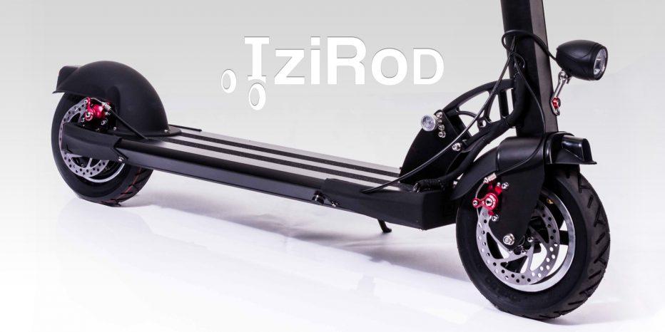 Izirod, la trottinette 100% électrique !