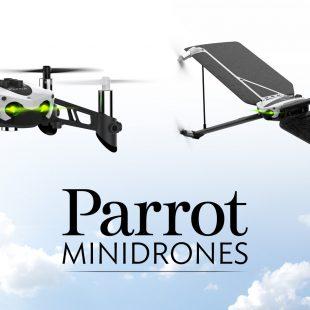 Découvrez les New MiniDrones Parrot !