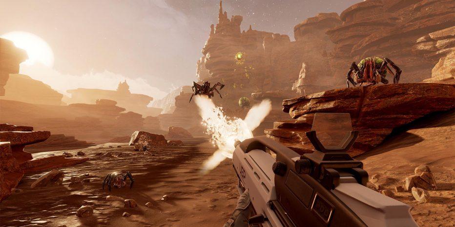 Survivez sur une planète hostile dans Farpoint !