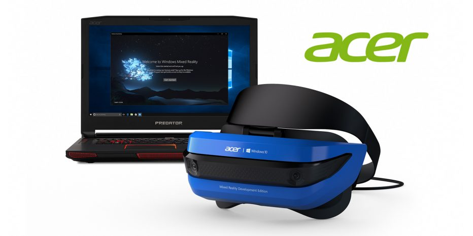 Découvrez le Acer Windows Mixed Reality !