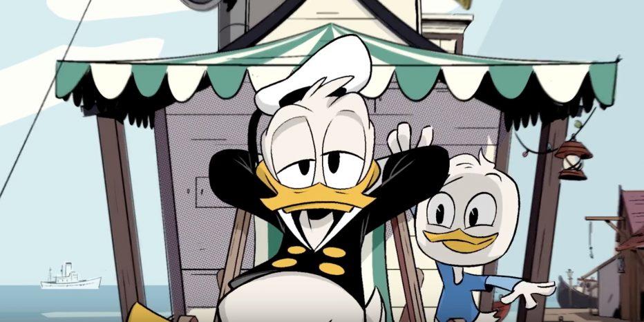 Le plein d'extraits pour la série Ducktales de Disney XD