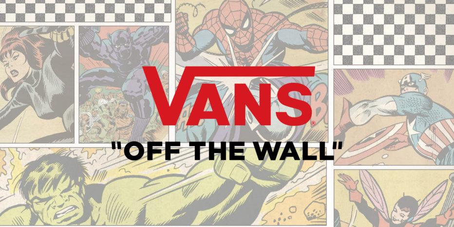 Marvel x Vans, une nouvelle collection