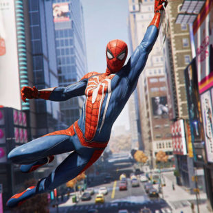 L'impressionnant open-world de Spider-Man PS4
