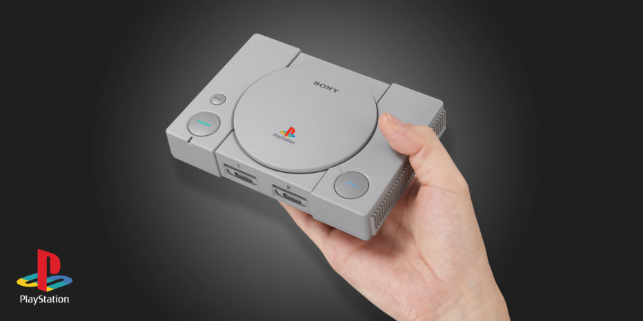 Sony annonce la PlayStation Classic !