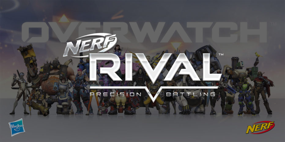 Quand Nerf s'associe à OverWatch…