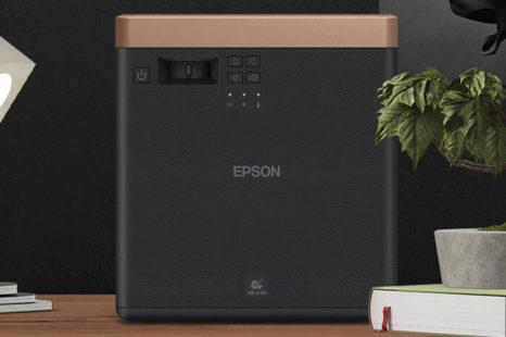 UNBOXING/TEST : Video-projecteur Epson EF-100B