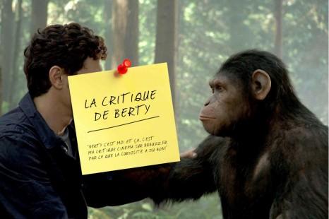 La critique de Berty : La planète des singes : Les origines