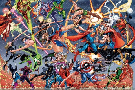 Marvel vs Dc Comics : Le choc !!!