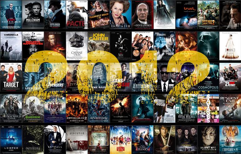 L'année 2012 au cinéma en 6 minutes !