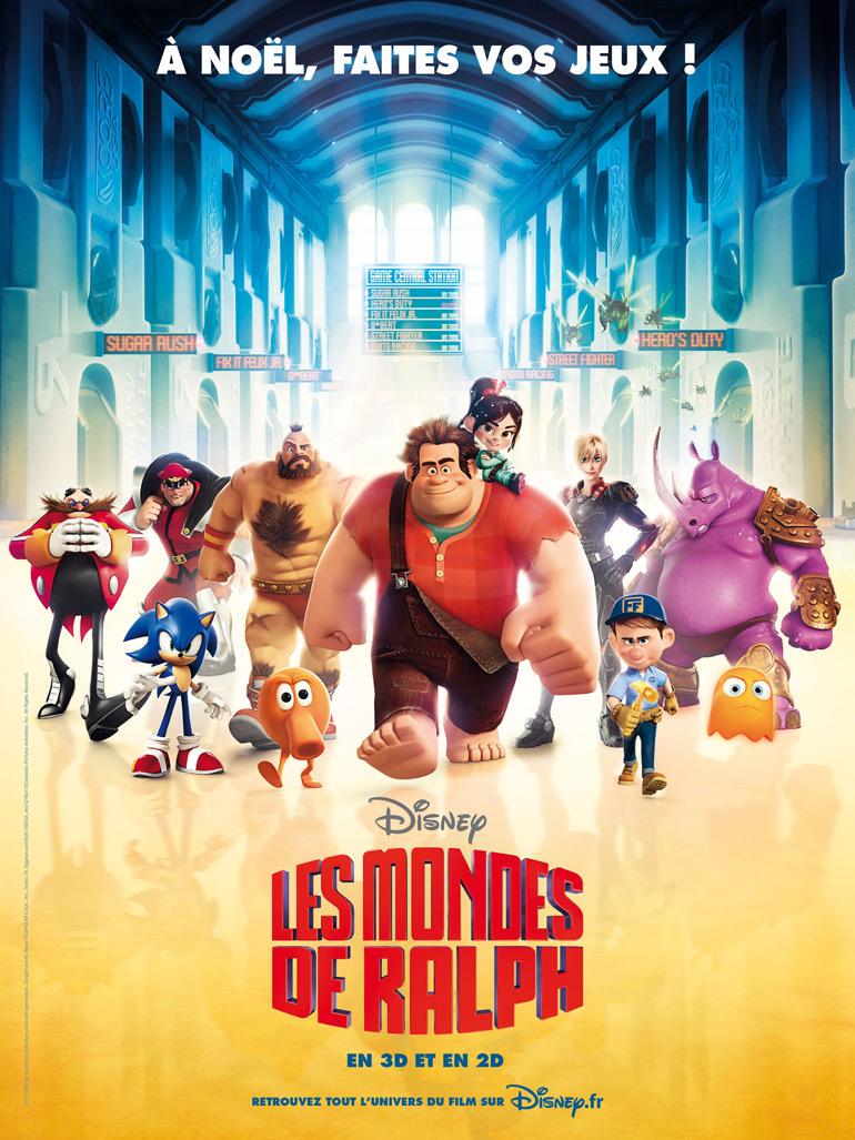Vu au cinéma : Les Mondes de Ralph