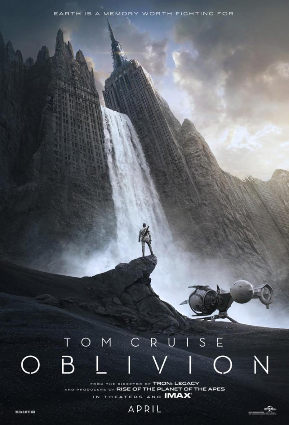 Oblivion, la bande-annonce avec Tom Cruise