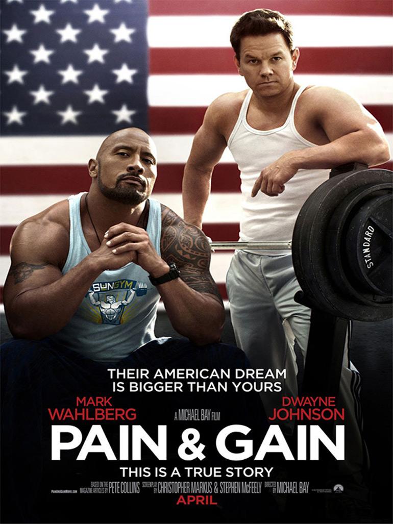 Pain & Gain, le trailer sous stéroïdes !!!