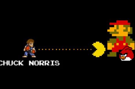 Quand Chuck Norris affronte les plus grands jeux vidéo.
