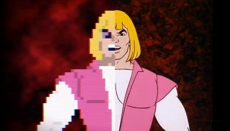 He-Man en pixels, ça donne ça!