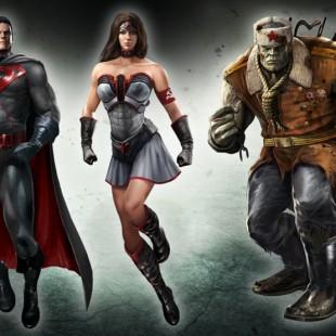 Injustice: Gods Among Us, le Bonus de précommande.