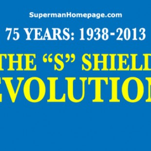 Evolution du logo Superman depuis 1938
