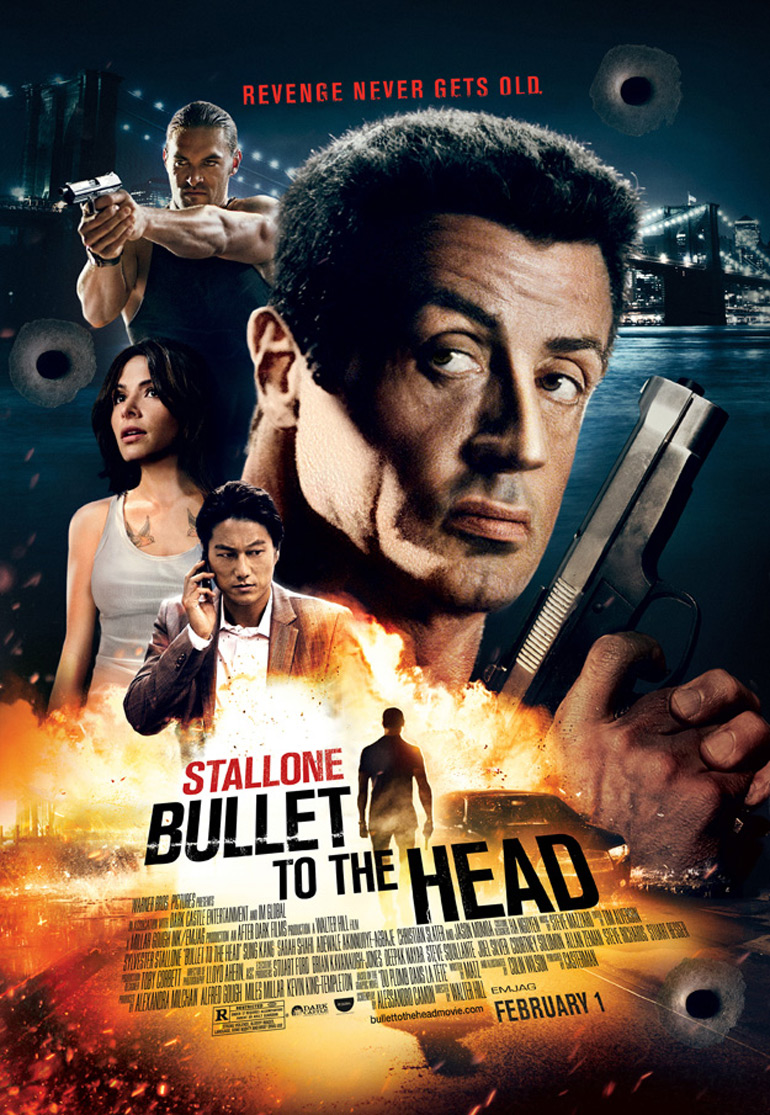 Bullet To The Head s'affiche… à l'ancienne.