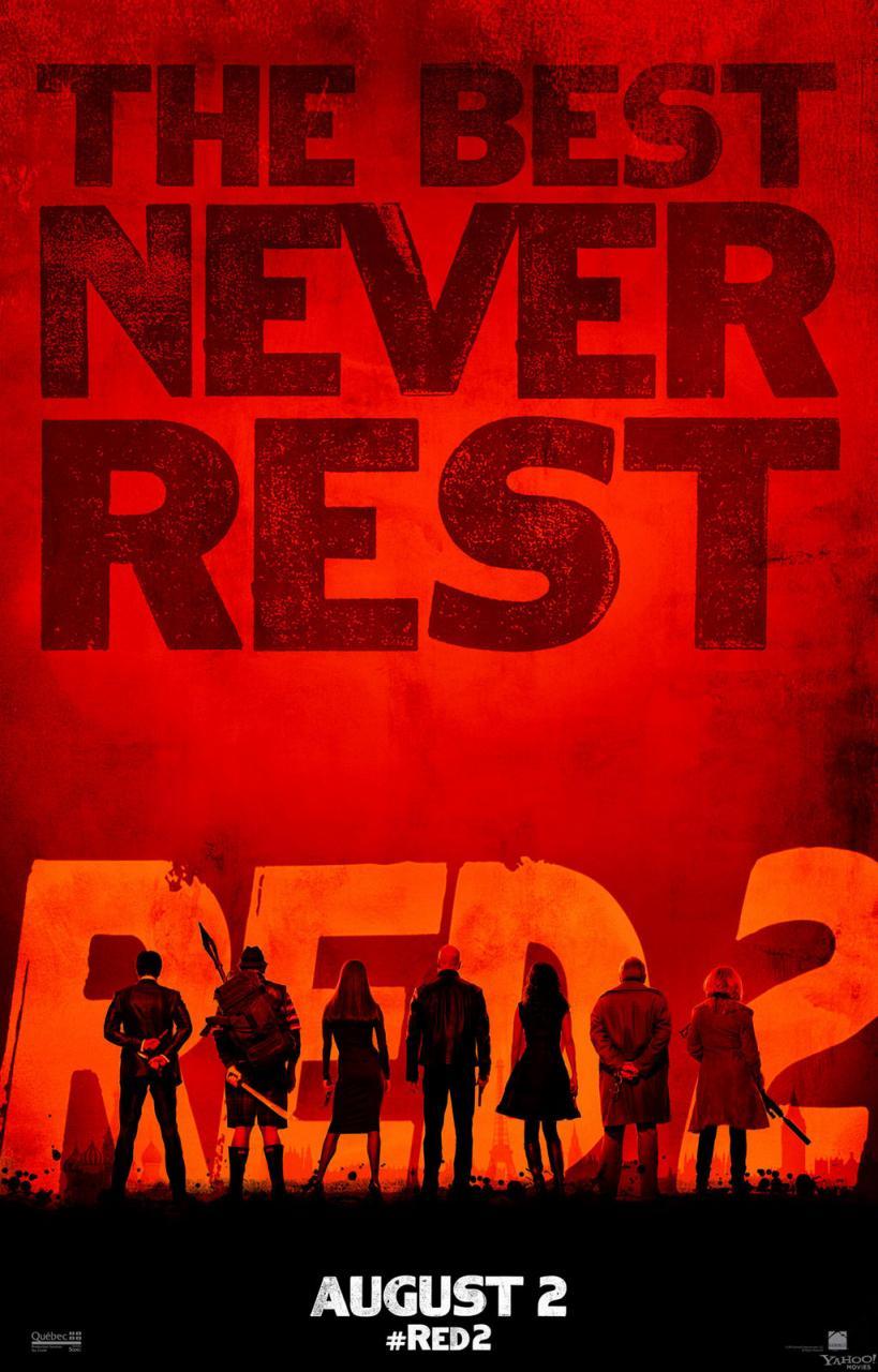 Une nouvelle affiche pour Red 2