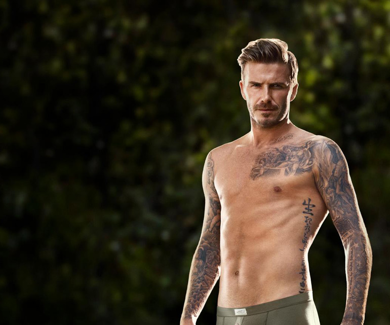 David Beckham pour H&M…