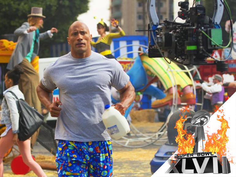 [Super Bowl 2013] Spot Dwayne Johnson