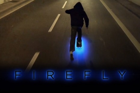 Quand Tron rencontre le skateboard…