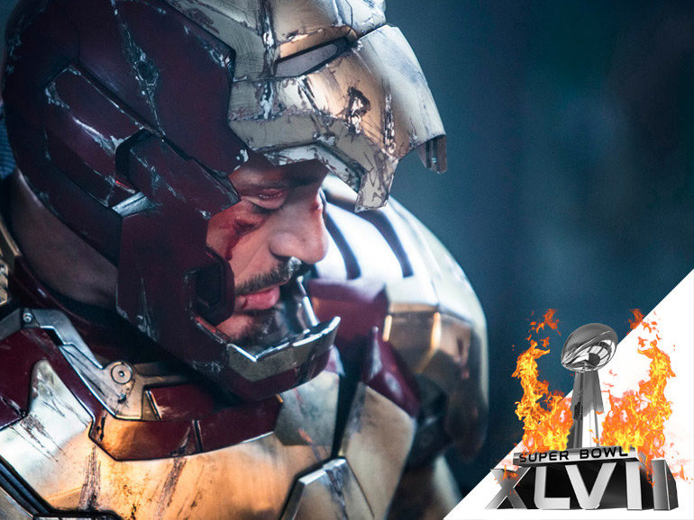 [Super Bowl 2013] Iron Man 3