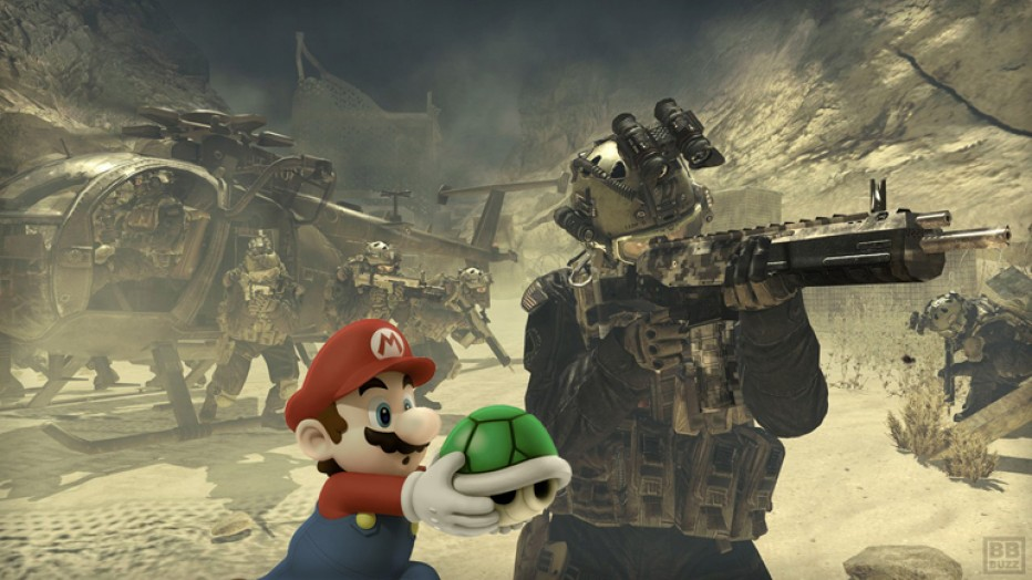 FPS : Mario Bors Warfare