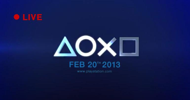 [LIVE] Conference Playstation 4 en direct.