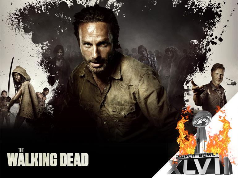 [Super Bowl 2013] Spot The Walking Dead