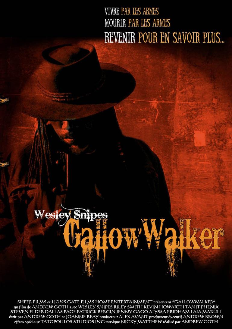 Wesley Snipes + Zombies + Western = Gallowwalkers