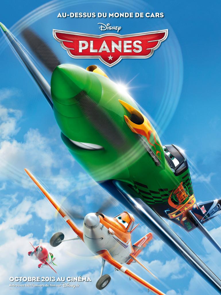 1er extrait français pour Planes de Disney