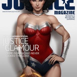 De magnifiques couvertures pour le Justice Magazine